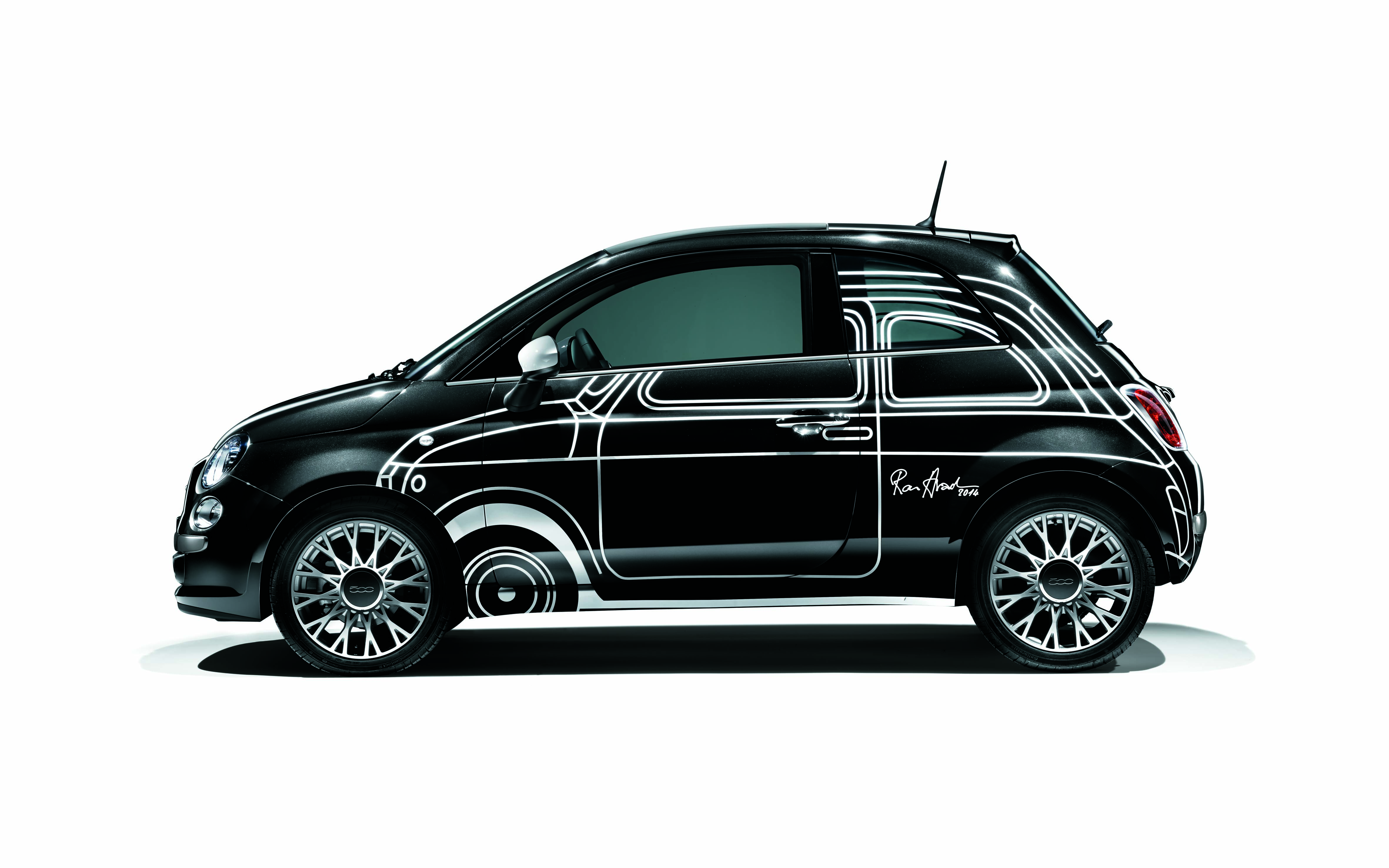 fiat 500 ron arad edition weltpremiere in paris pressemitteilungen fiat group automobiles. Black Bedroom Furniture Sets. Home Design Ideas