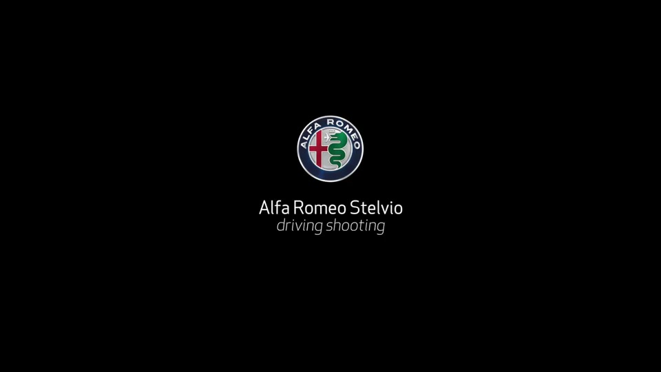 FOOTAGE Alfa Romeo Stelvio driving shooting