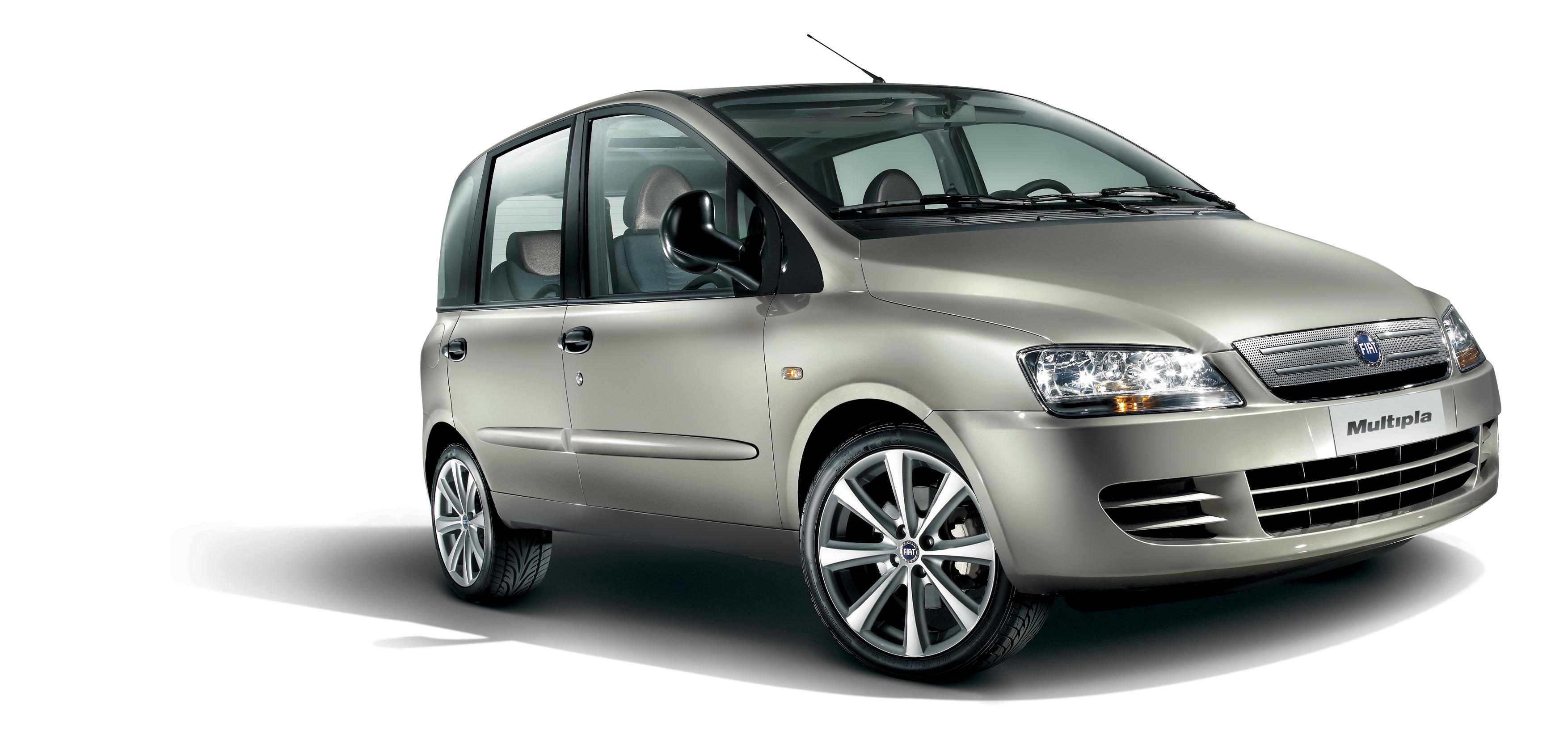 fiat multipla das neue modelljahr italienischer kompaktvan betont mit facelift das fiat. Black Bedroom Furniture Sets. Home Design Ideas