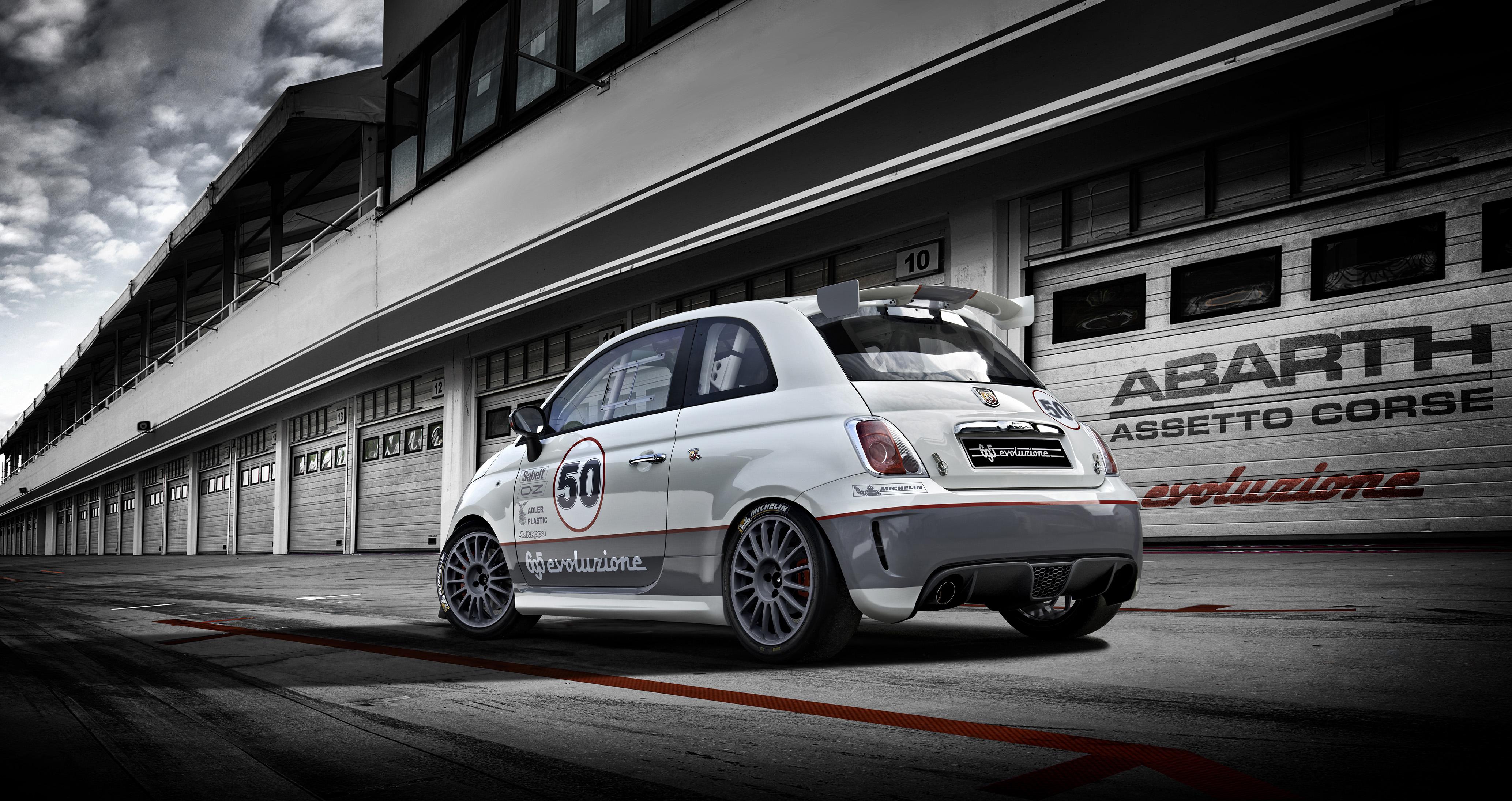 Abarth auf dem Internationalen Auto-Salon in Genf ...