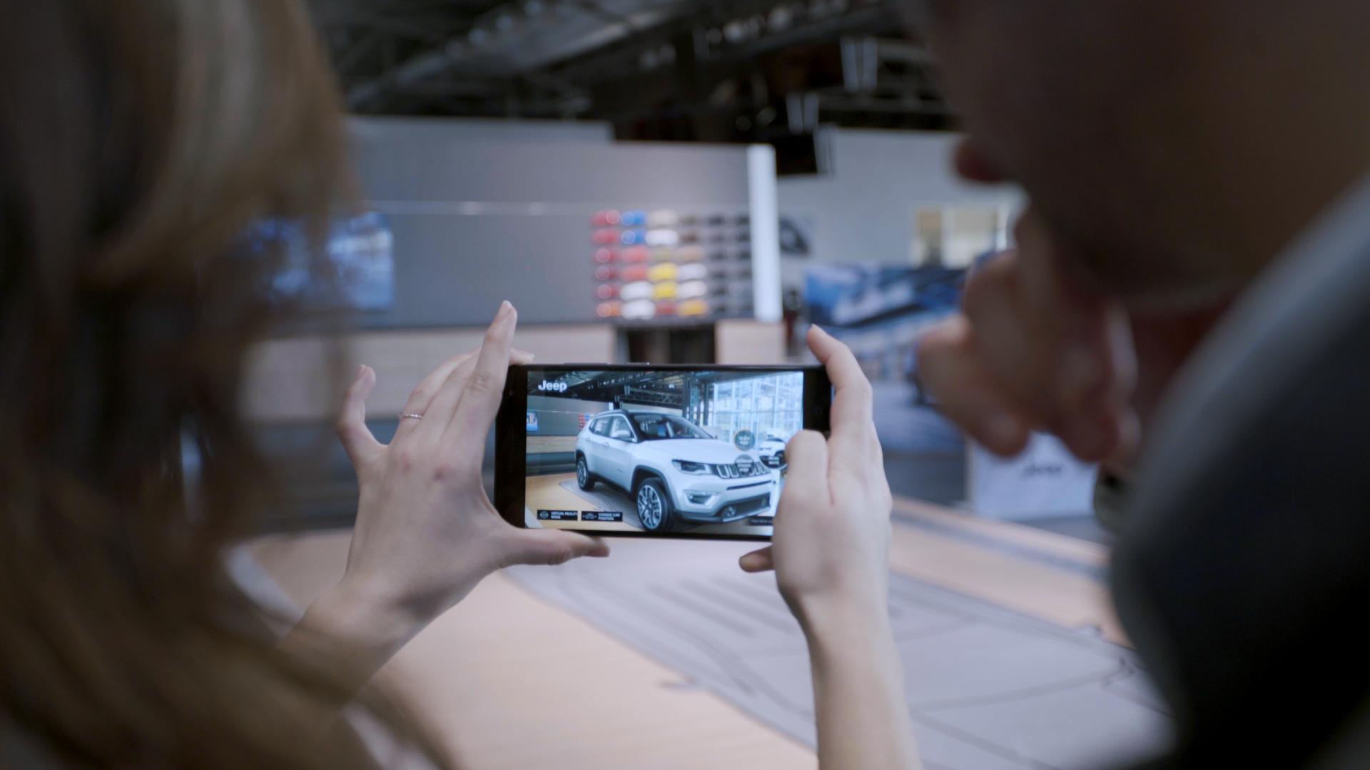 Jeep® stellt mit dem Compass ein innovatives Kundenerlebnis vor ...