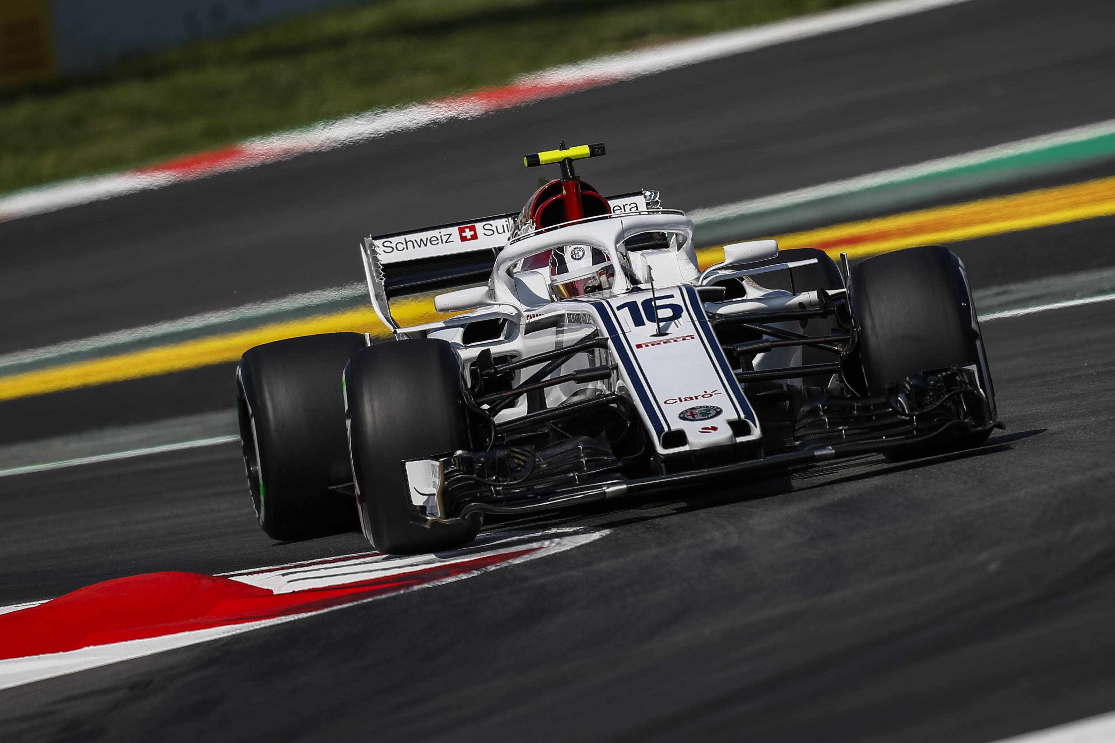 the alfa romeo sauber f1 team finishes in the points for the second time in a row with charles. Black Bedroom Furniture Sets. Home Design Ideas