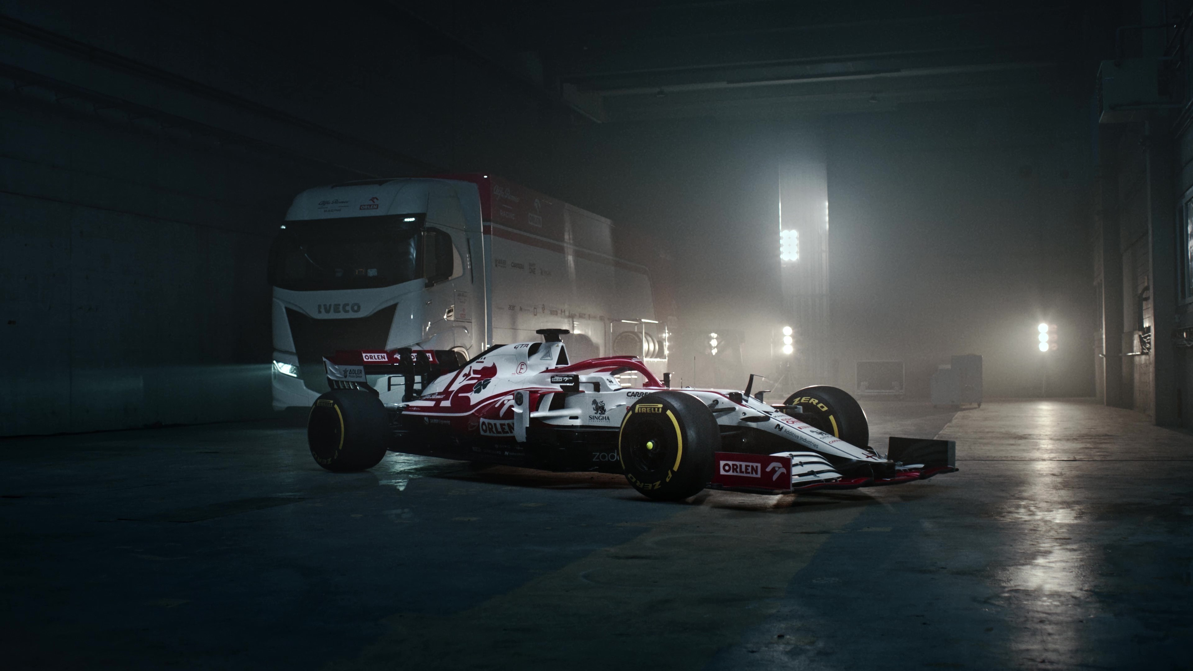 Alfa Romeo Racing 2021 - Reveal of  C41 Long
