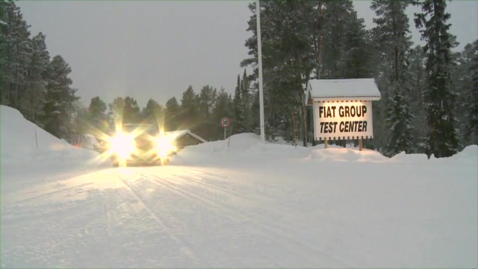 winter test in Sweden part 1