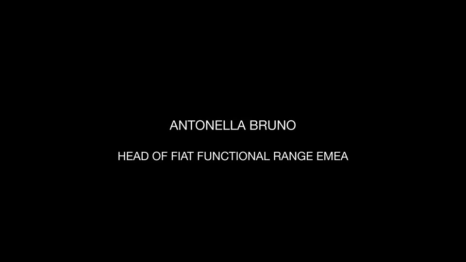 Antonella Bruno, Head of Fiat Functional Range Emea