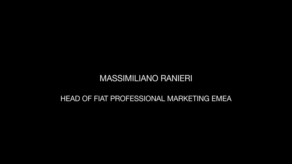 Masssimiliano Ranieri head of Fiat Professional Marketing Emea