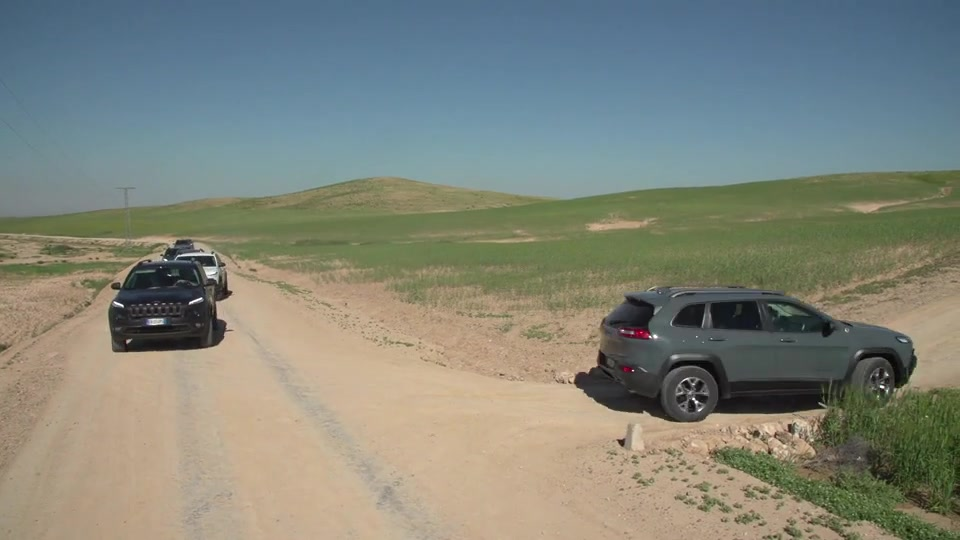 Jeep Cherokee 2015 Marrakesh Challenge