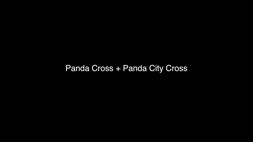 New Panda Cross and New Panda City Cross Footage