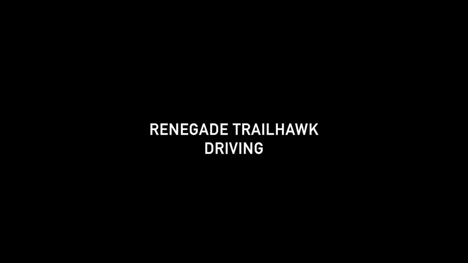 Footage Renegade MY19 Trailhawk