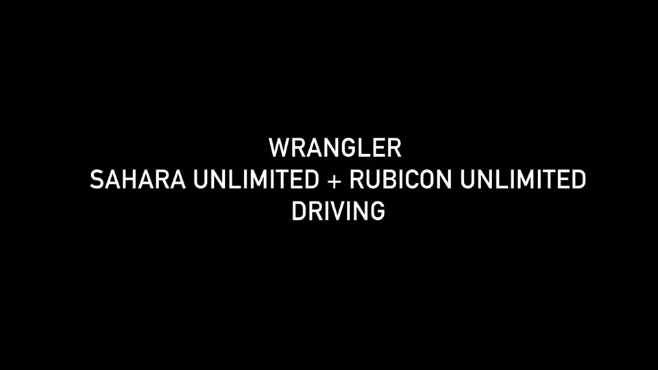Footage Jeep Wrangler Line Up