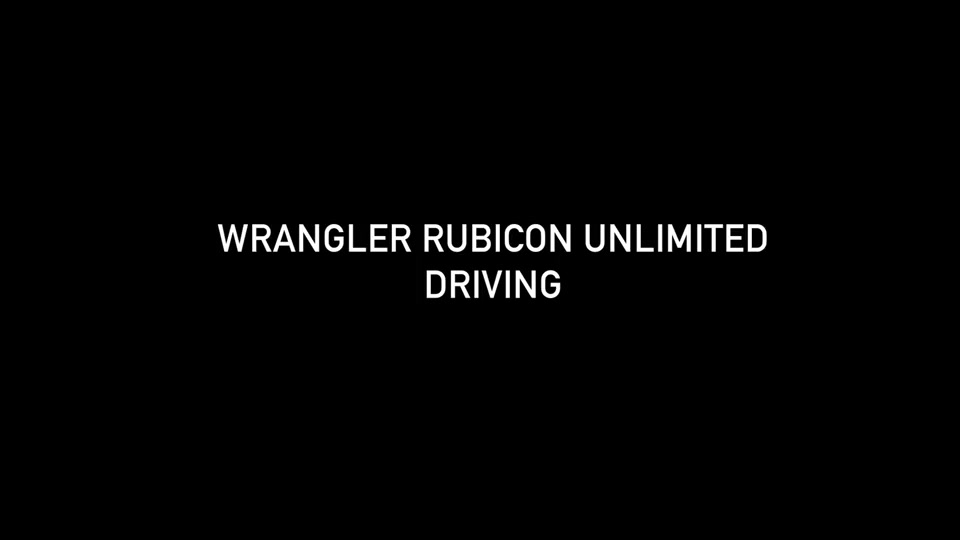 Footage Jeep Wrangler Rubicon Unlimited