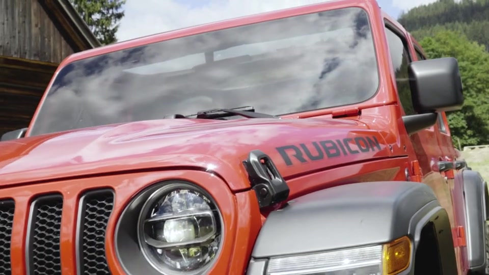 Clip Jeep Wrangler Rubicon Unlimited