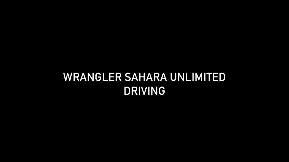 Footage Jeep Wrangler Sahara Unlimited