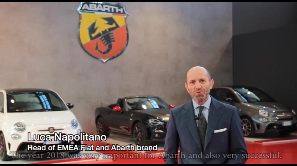 Interview with Luca Napolitano, Head of Fiat and Abarth brand EMEA