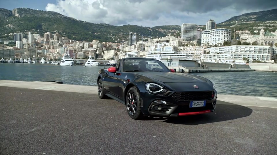 Footage Abarth 124 Spider