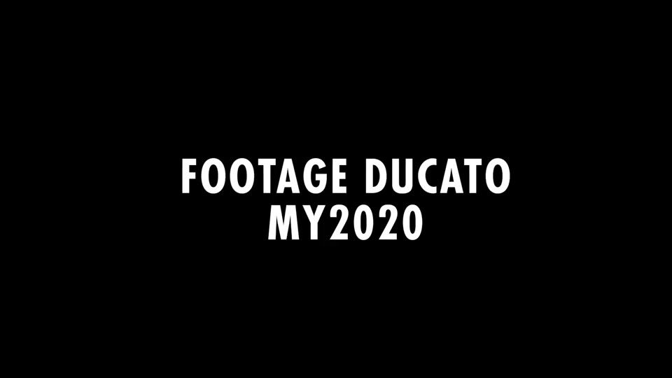 Footage Ducato MY2020