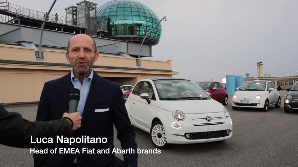 Interview with Luca Napolitano, Head of EMEA Fiat and Abarth brands Videoclip