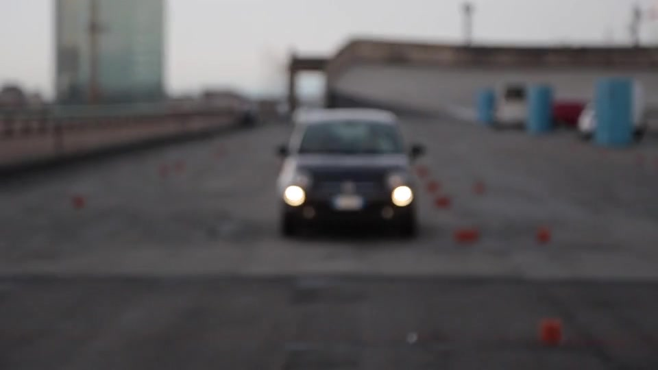 The celebrations for the Fiat 500 on the Lingotto rooftop Clip
