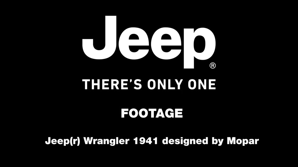 Jeep® Wrangler Unlimited 1941 designed by Mopar - Footage