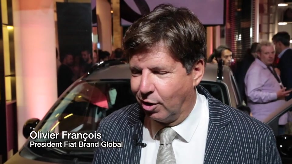 Interview with Olivier François, President Fiat Brand Global