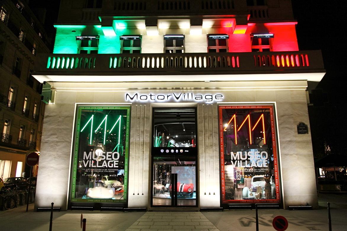 Exposition Museovillage Motorvillage Paris