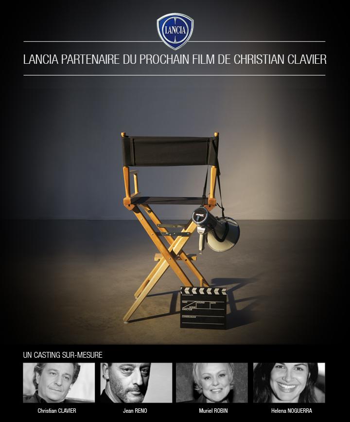 lancia partenaire du film de christian clavier communiqu s de presse fiat chrysler. Black Bedroom Furniture Sets. Home Design Ideas