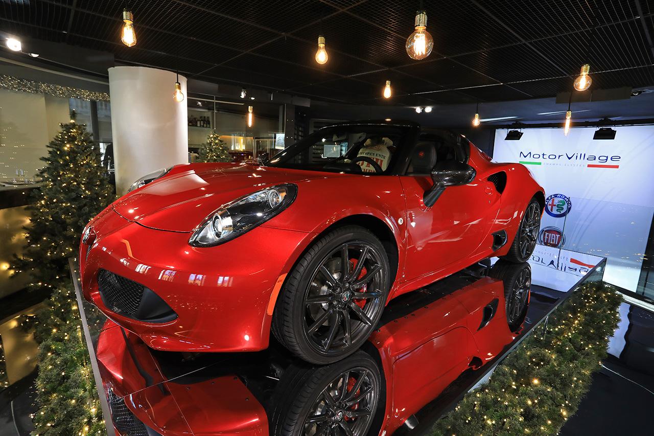 Nouvelle exposition motorvillage le garage du p re for Garage alfa romeo paris