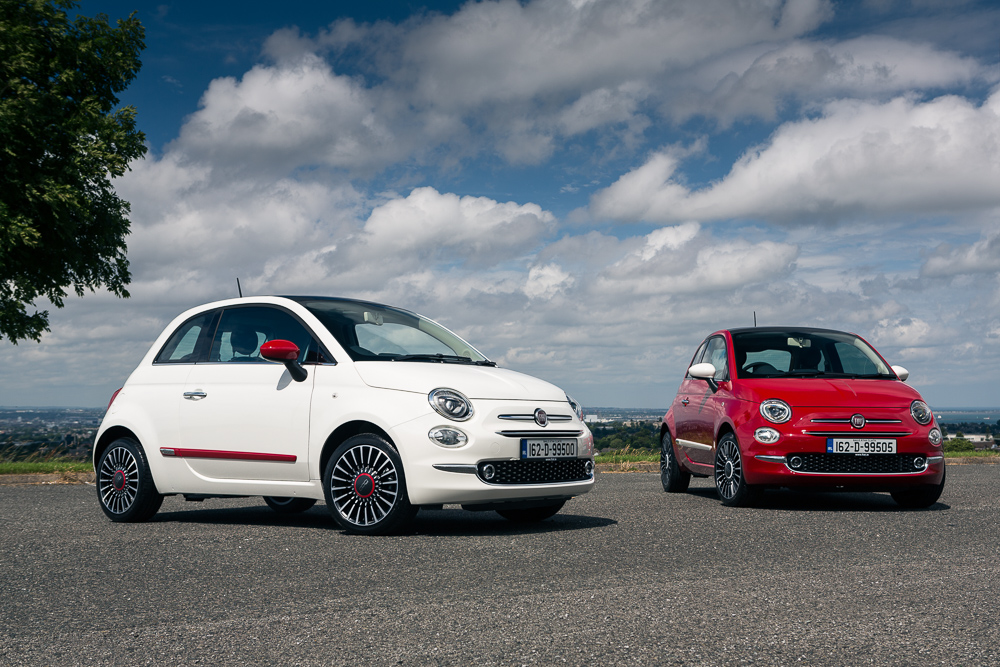 limited edition fiat 500 collection launched in ireland press fiat group automobiles ireland. Black Bedroom Furniture Sets. Home Design Ideas