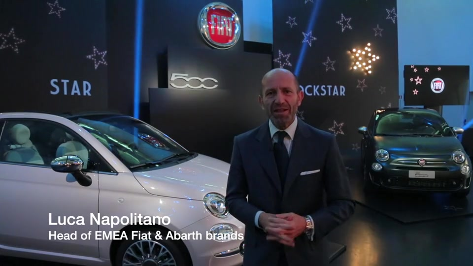 Intervista a Luca Napolitano, Head of EMEA Fiat and Abarth brands