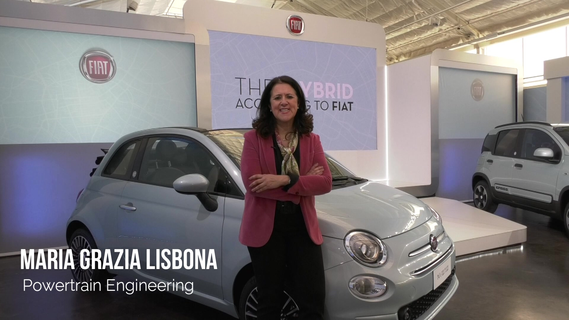 Interview with Maria Grazia Lisbona, Powertrain Engineering