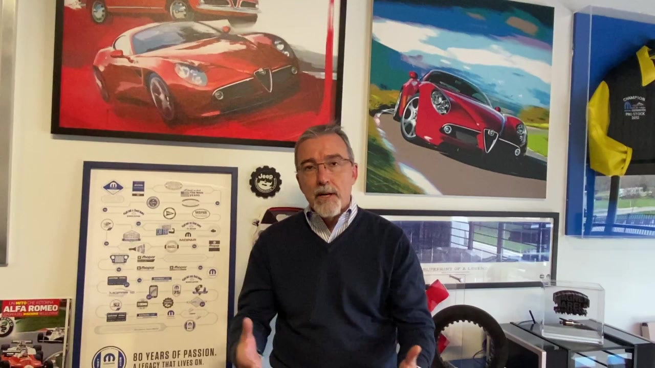 FCA EMEA COO Pietro Gorlier's video statement