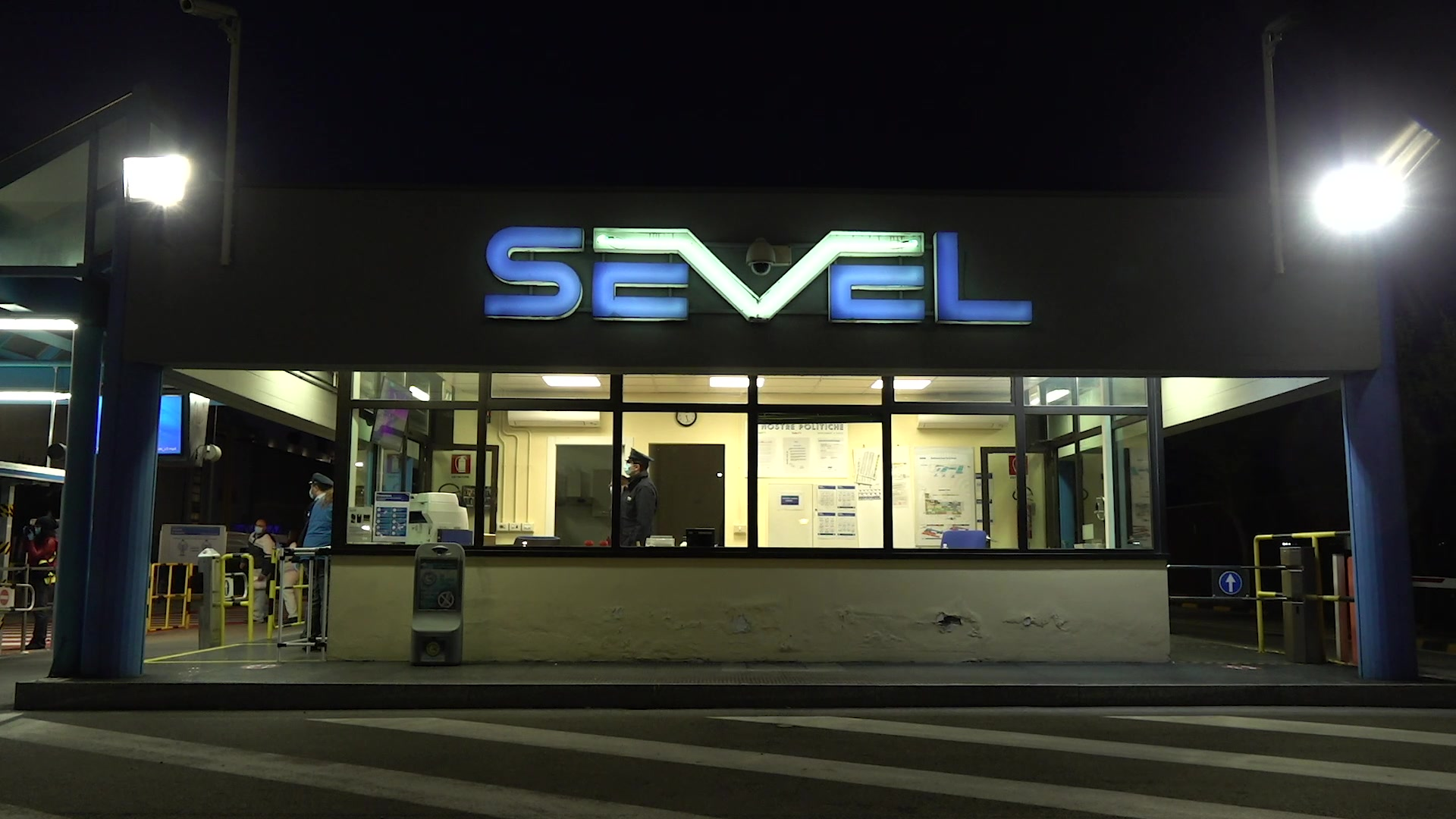 Sevel - Body temperature monitoring cameras