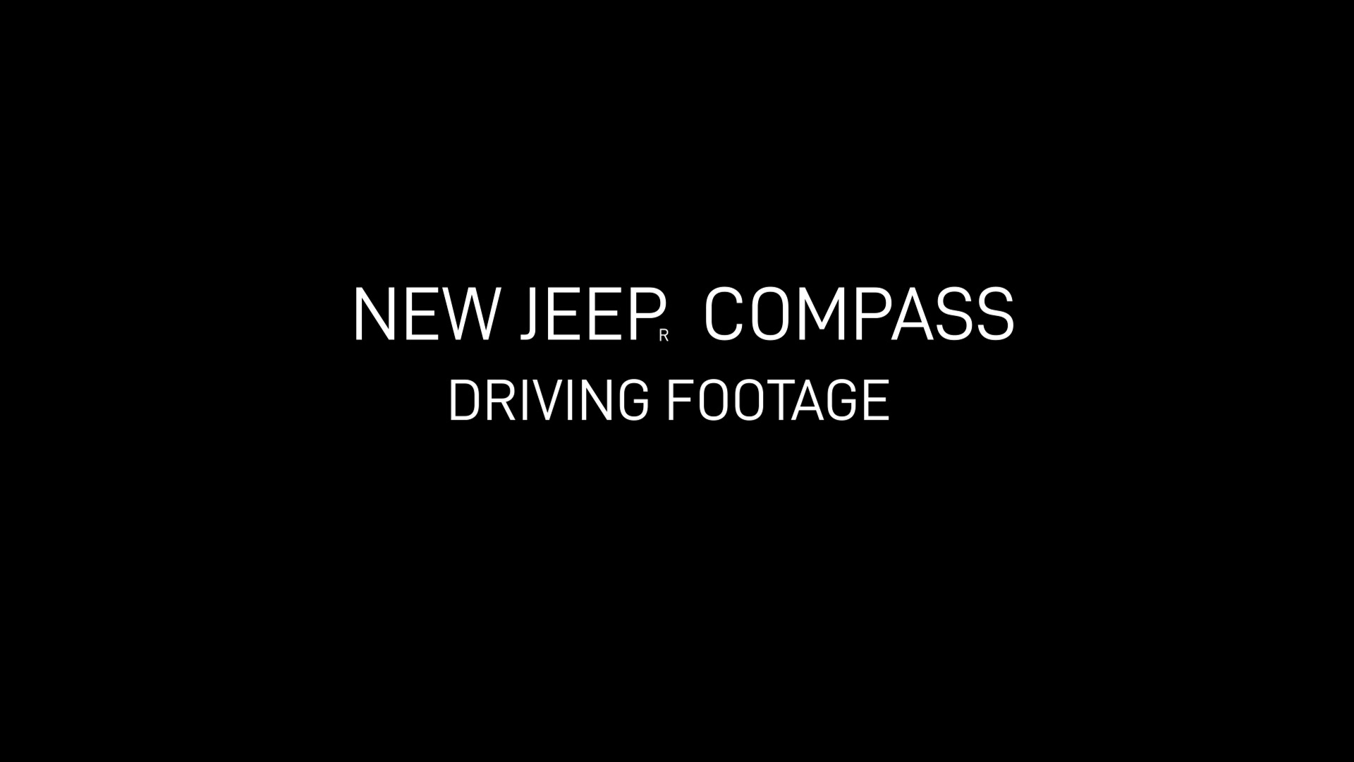 New 2020 Jeep® Compass Footage