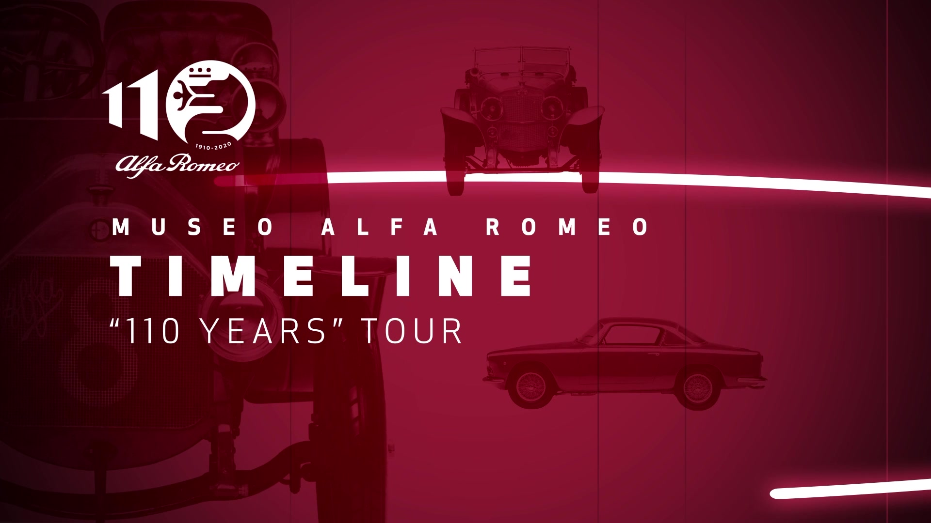 Tour 110 years - Timeline