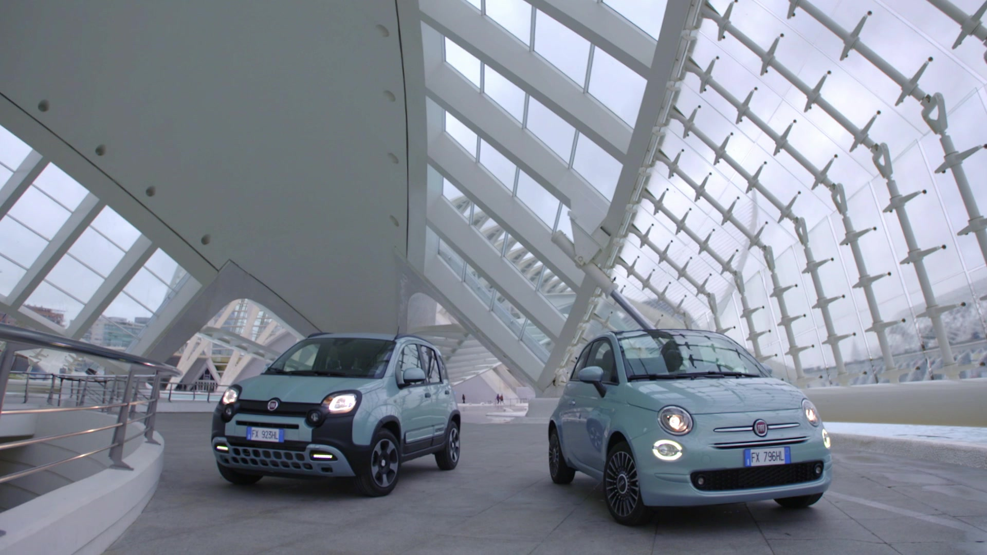 Fiat 500 e Fiat Panda Hybrid Launch Edition_footage static