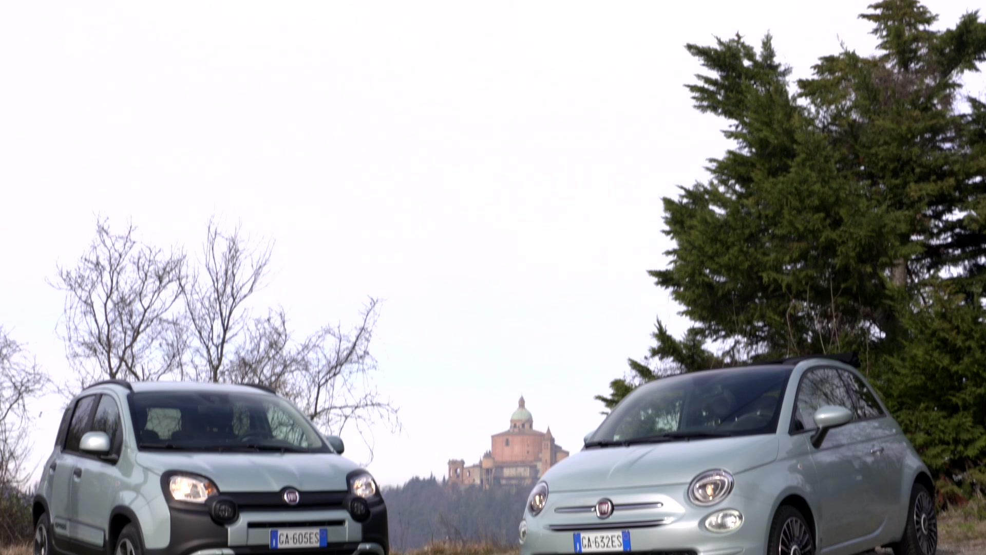 Fiat 500 e Fiat Panda Hybrid Launch Edition_media drive footage