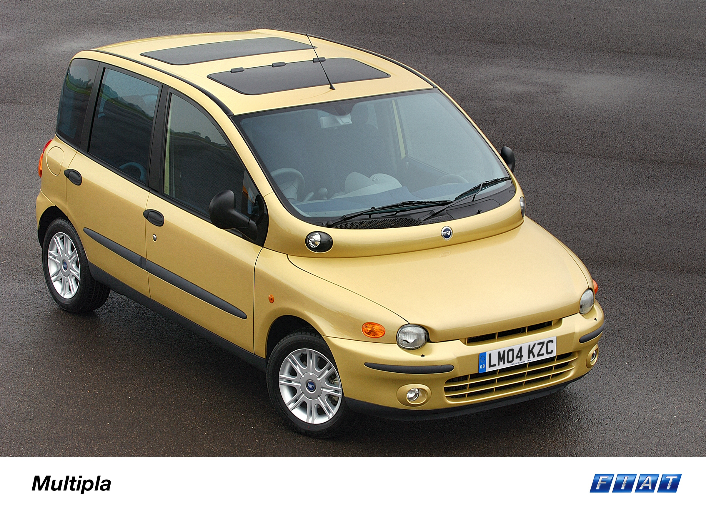 Multipla Is Mpv Mastermind 2004 Press Fiat Group