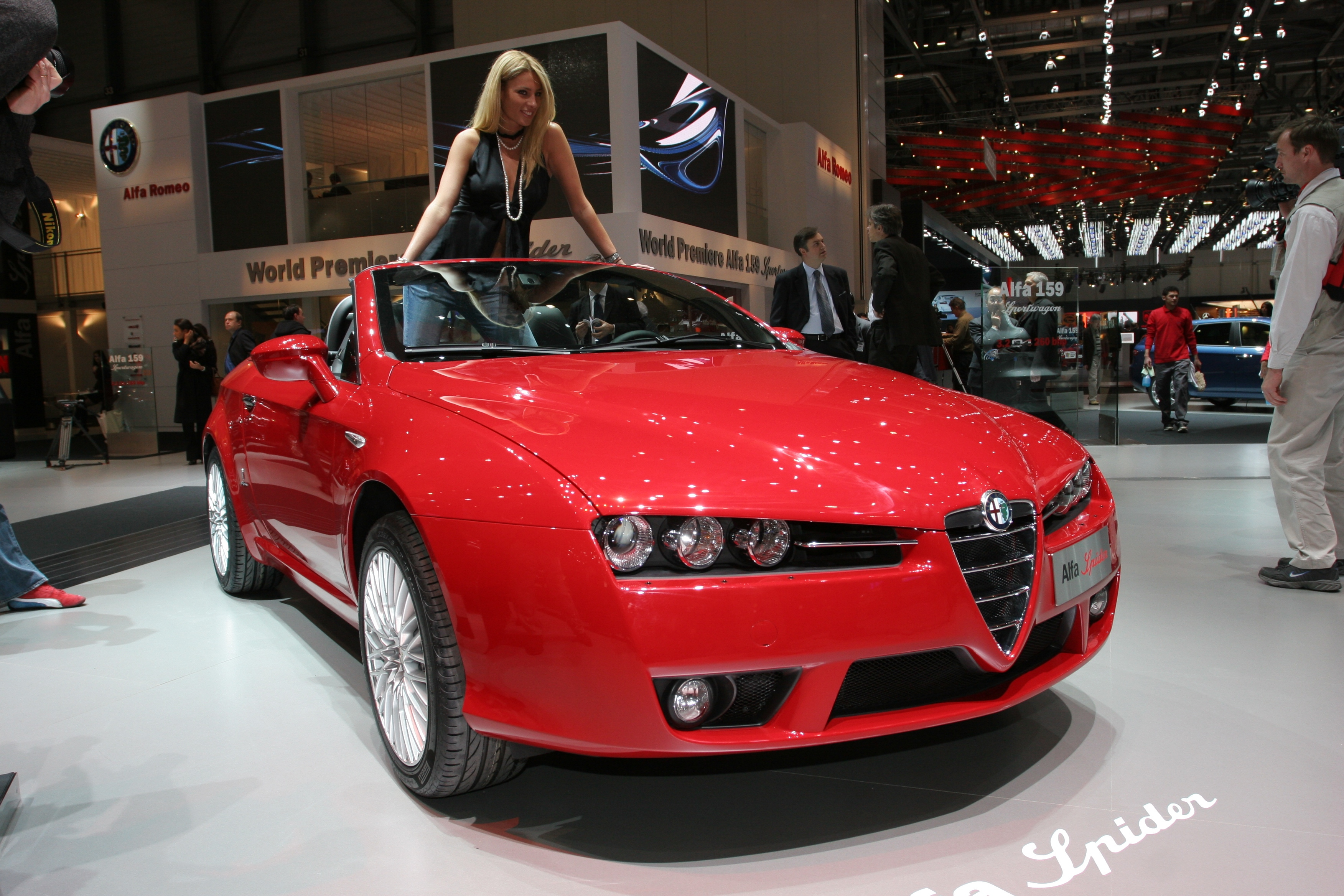 new alfa spider is cabrio of the year 2006 press fiat group automobiles press. Black Bedroom Furniture Sets. Home Design Ideas
