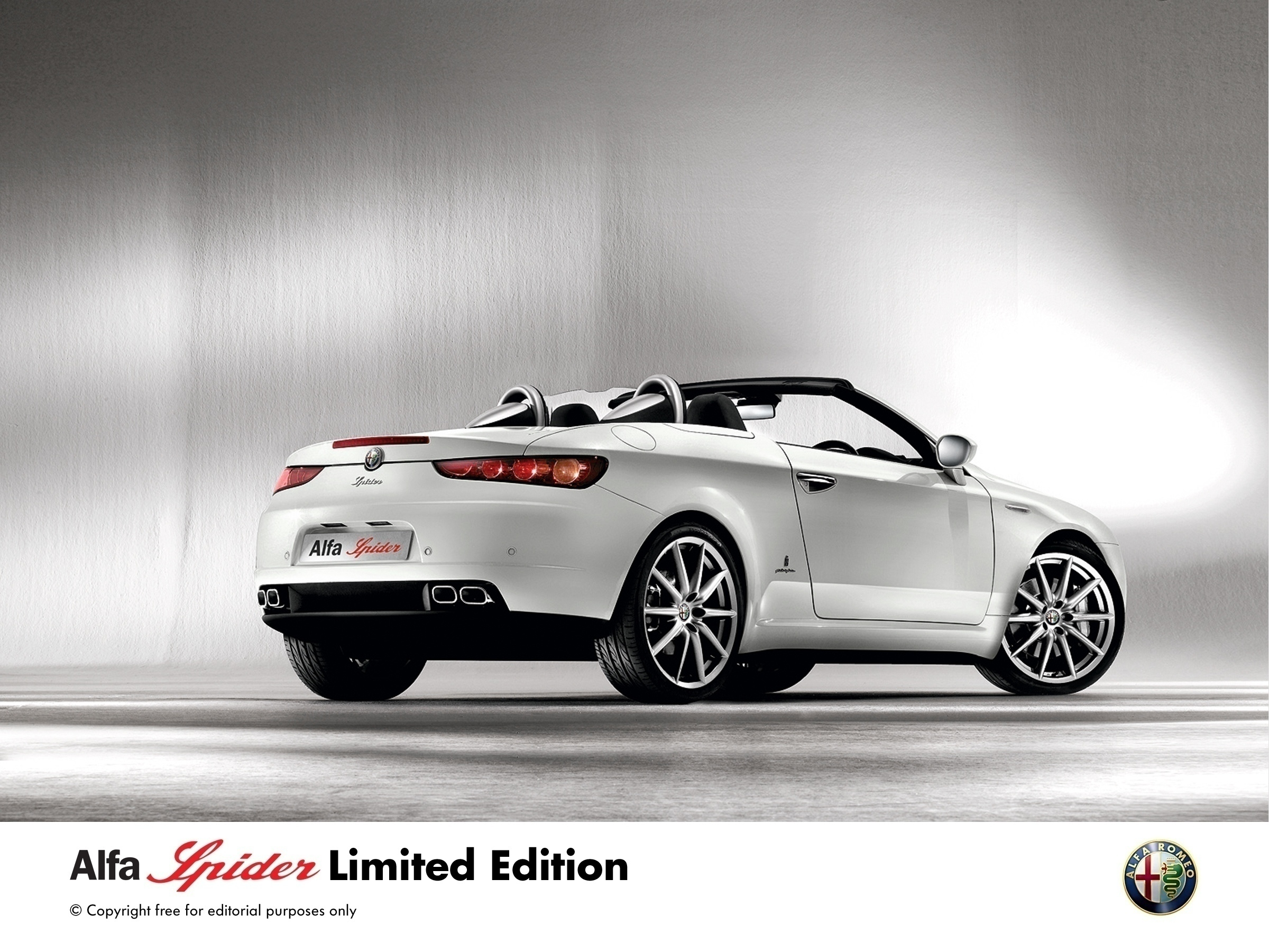 Alfa Spider More For Less This Summer Press Fiat