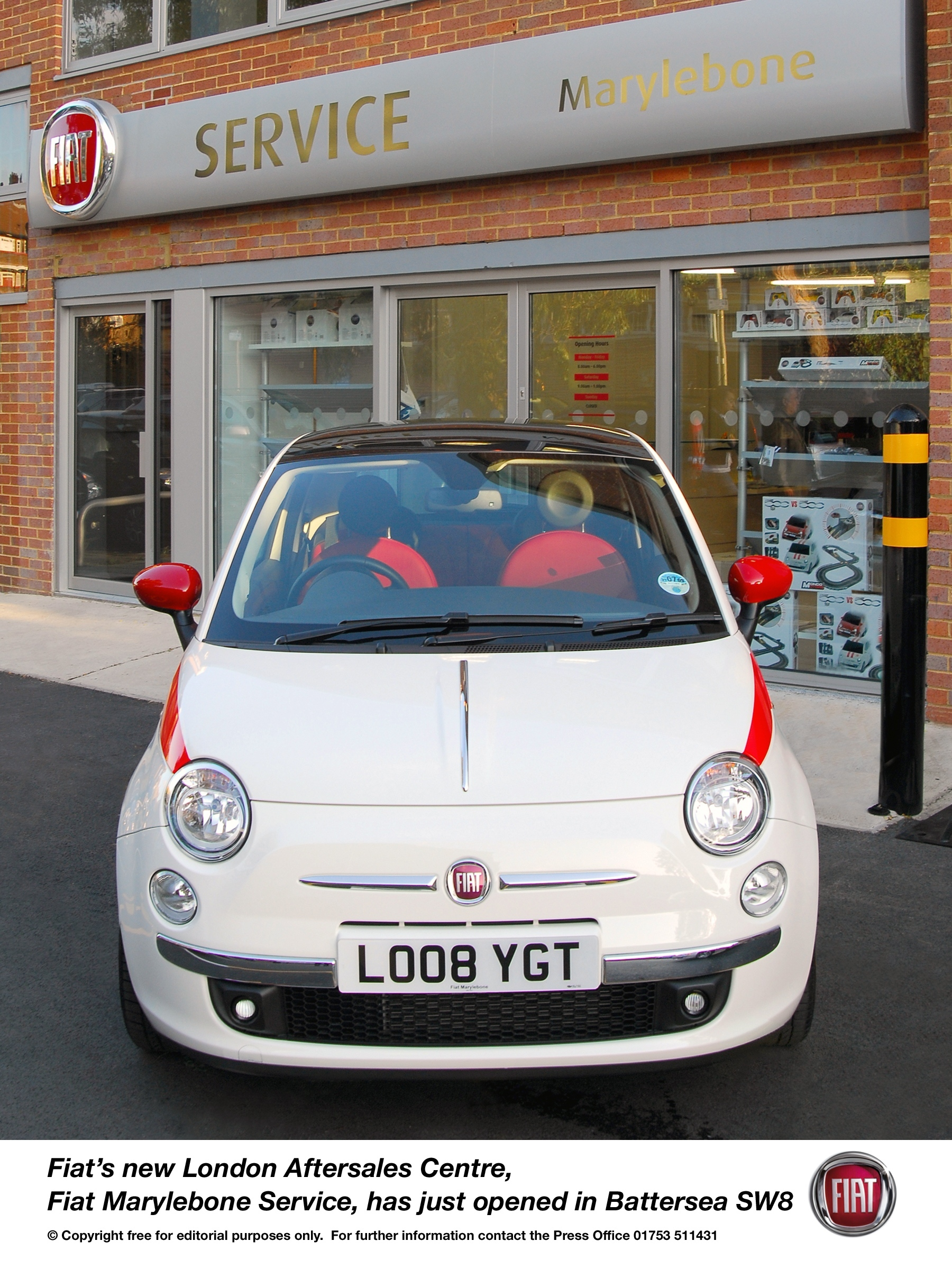 Johnston Chrysler Fiat >> OFFICIAL OPENING FOR FIAT'S NEW LONDON SERVICE CENTRE - Press - Fiat Group Automobiles Press