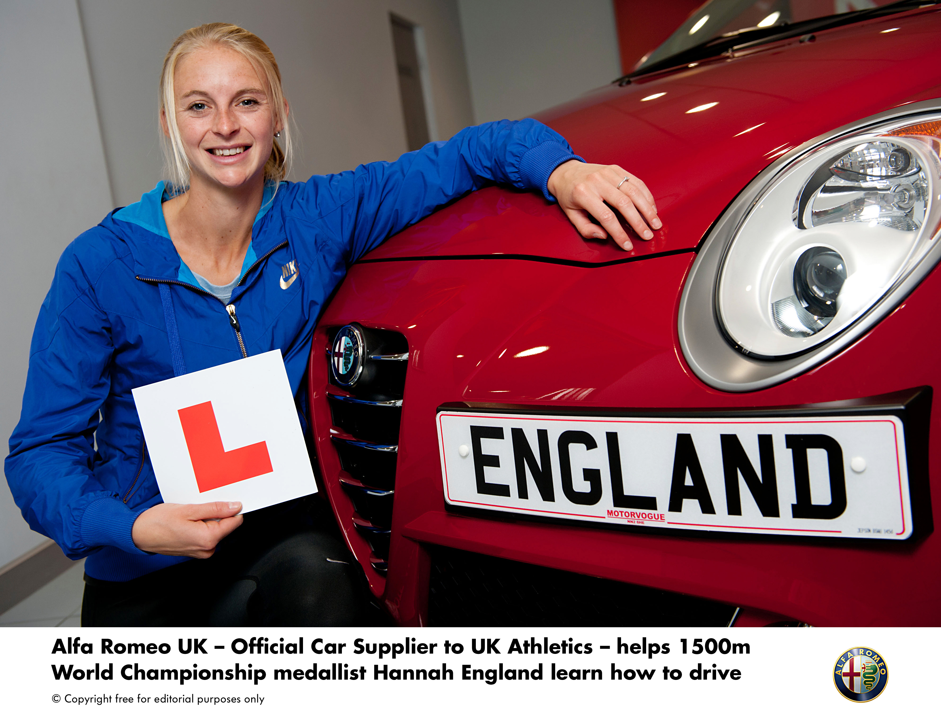Track To Road Alfa Romeo Uk Helps Hannah England Learn To