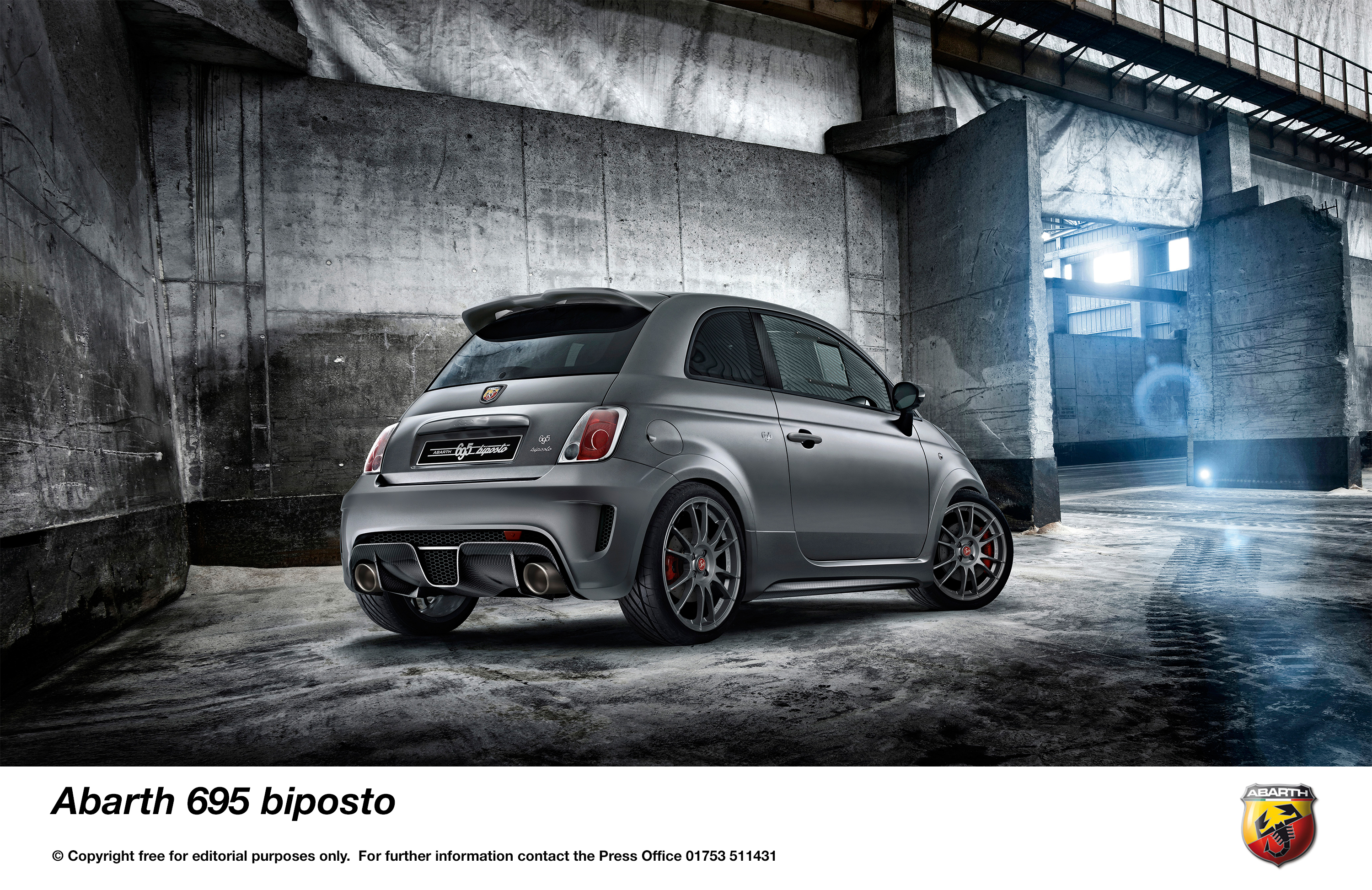 Johnston Chrysler Fiat >> THE MOST ABARTH OF ALL ABARTHS: THE ABARTH '695 BIPOSTO' - Press - Fiat Group Automobiles Press