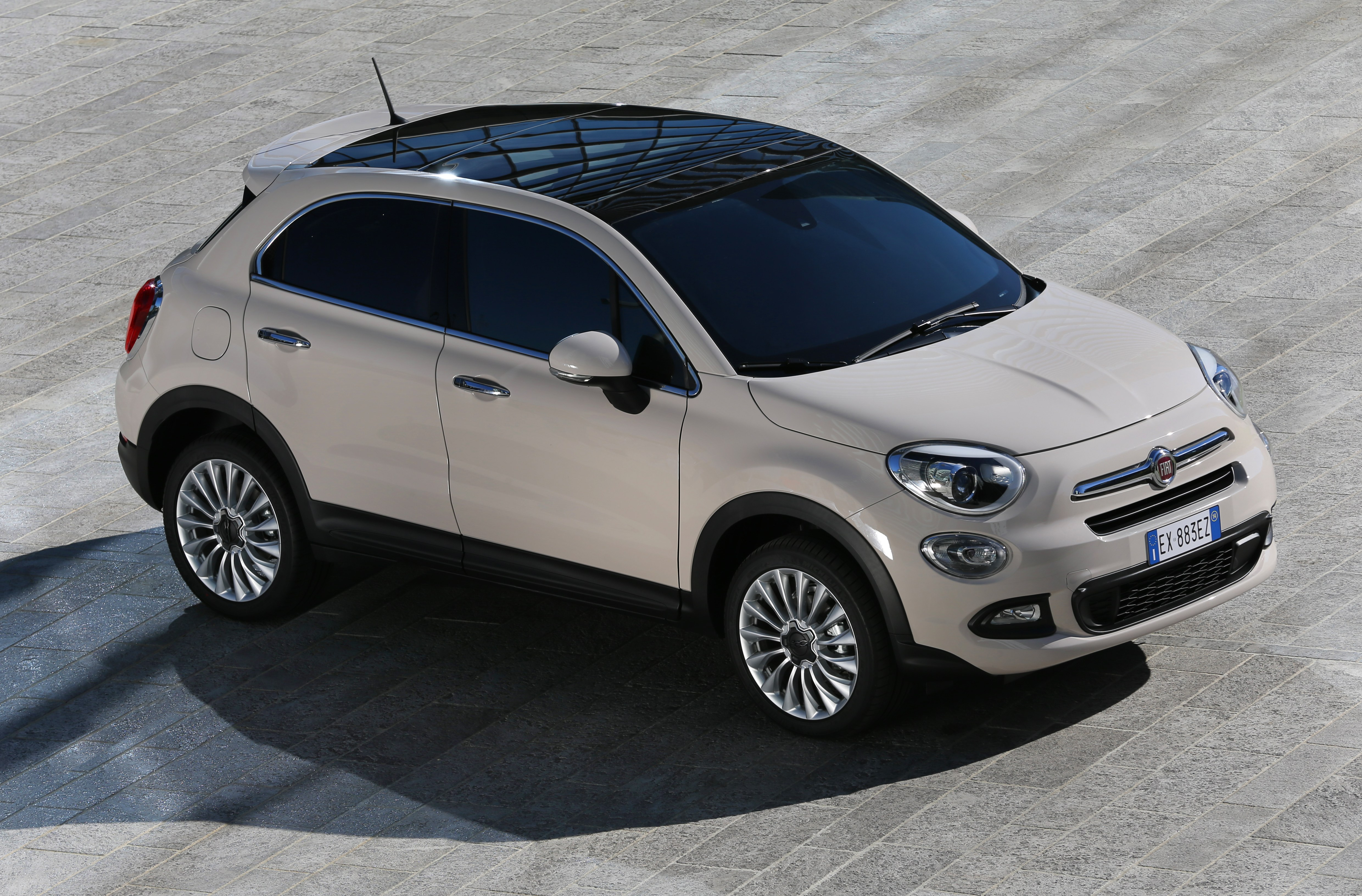 Fiat 500x Launched To Uk Media In Turin Press Fiat