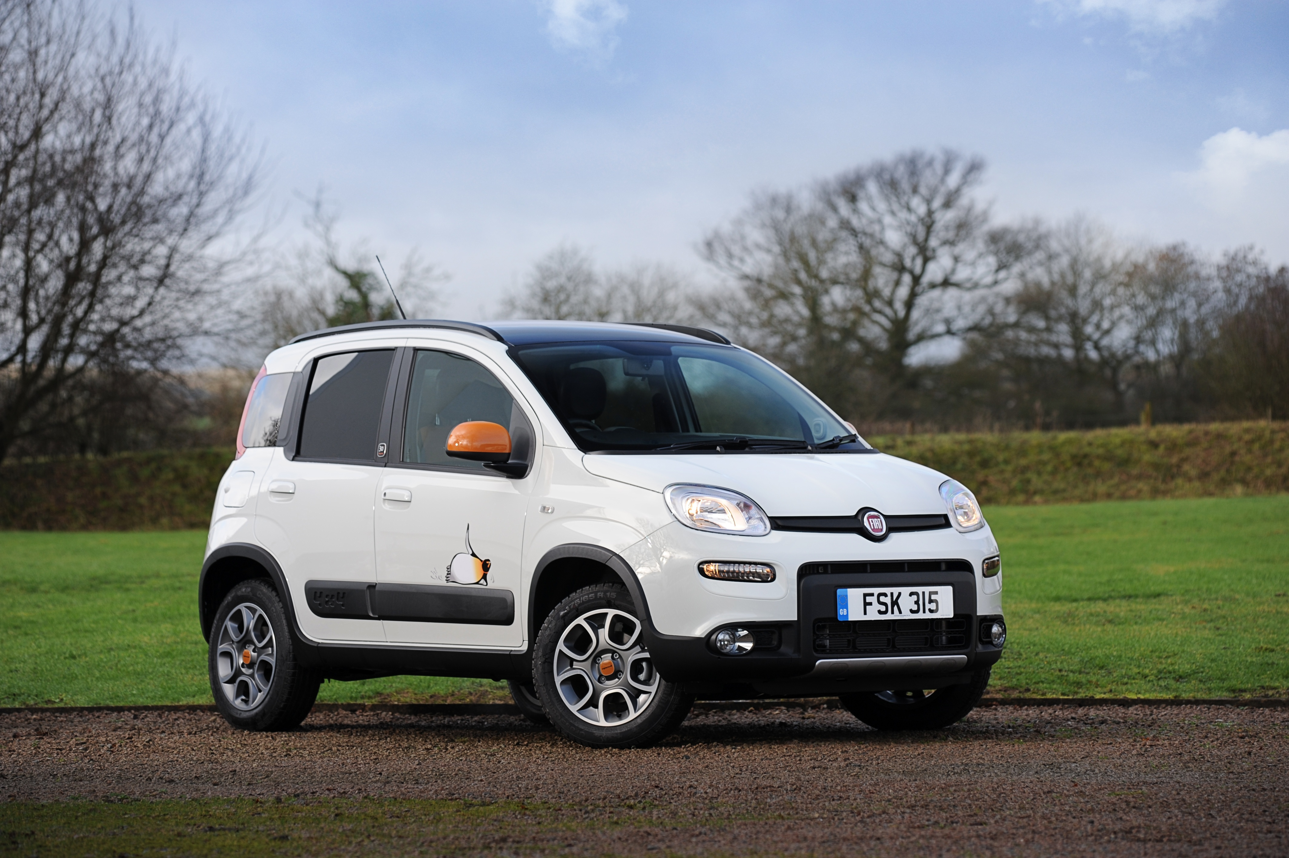 Special Edition Fiat Panda 4x4 Antarctica Goes On Sale