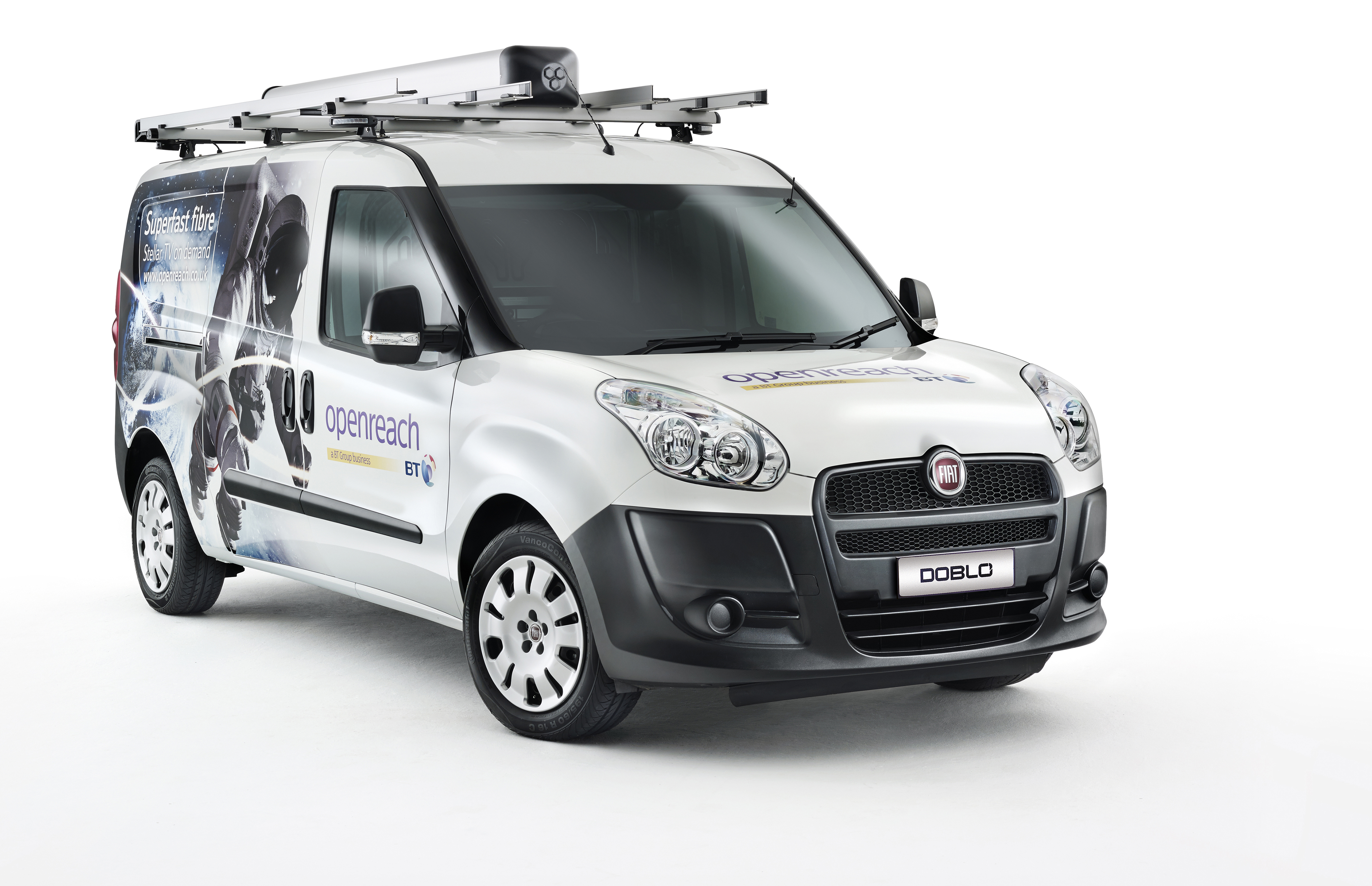 openreach selects the fiat dobl maxi to help drive its. Black Bedroom Furniture Sets. Home Design Ideas