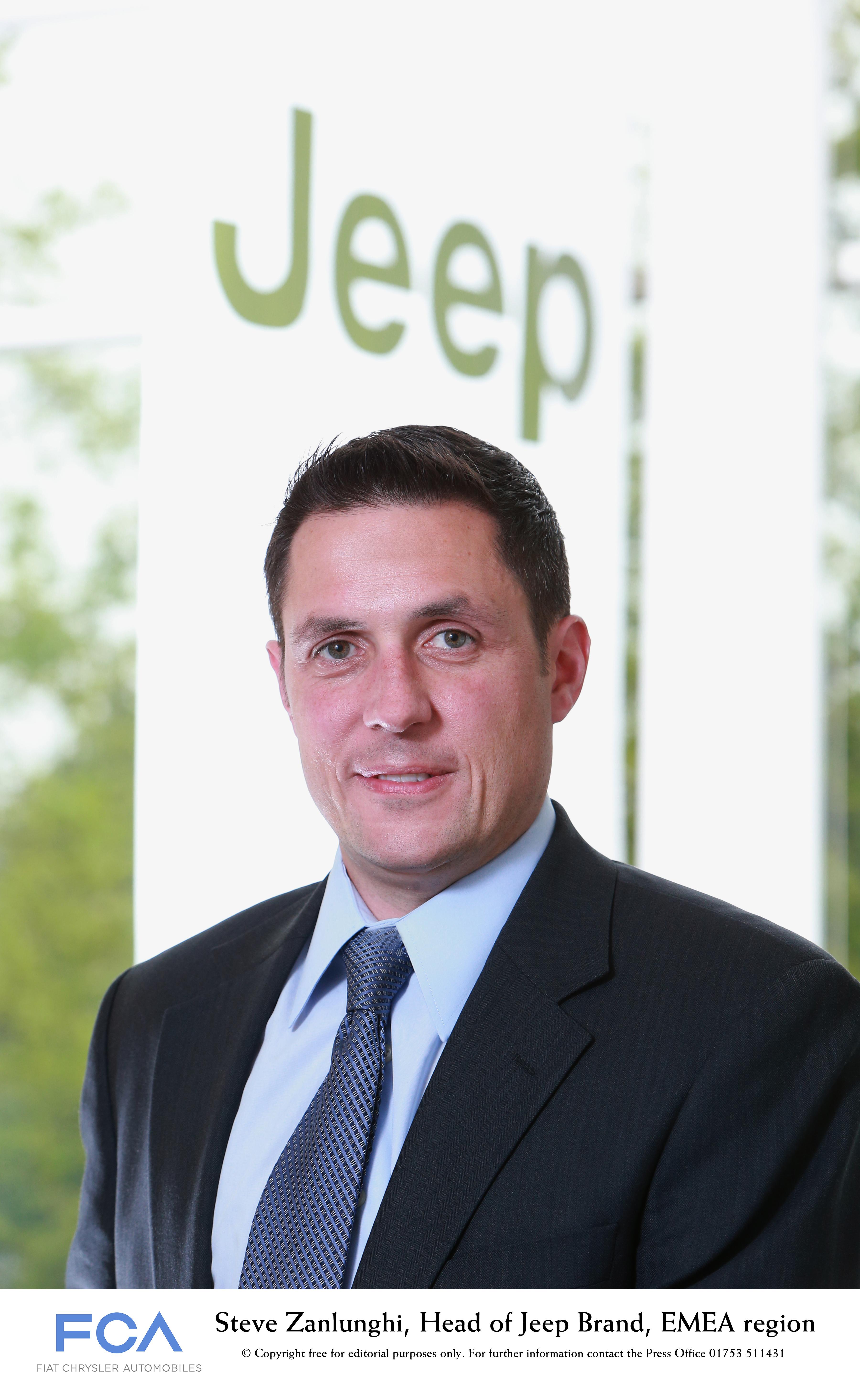 Steve Zanlunghi Appointed Head Of Jeep Brand Emea Region