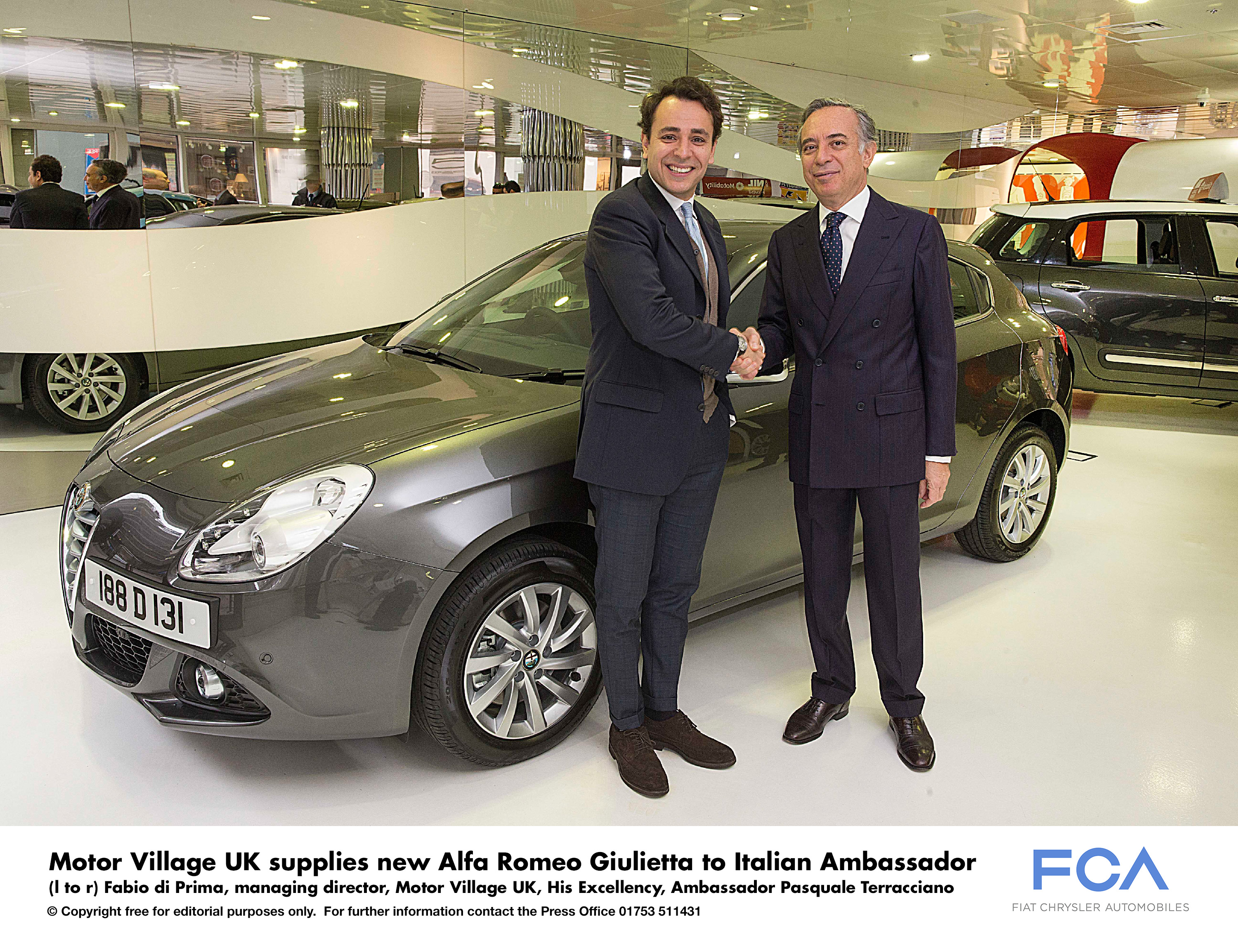 Motor Village Uk Supplies New Alfa Romeo Giulietta To