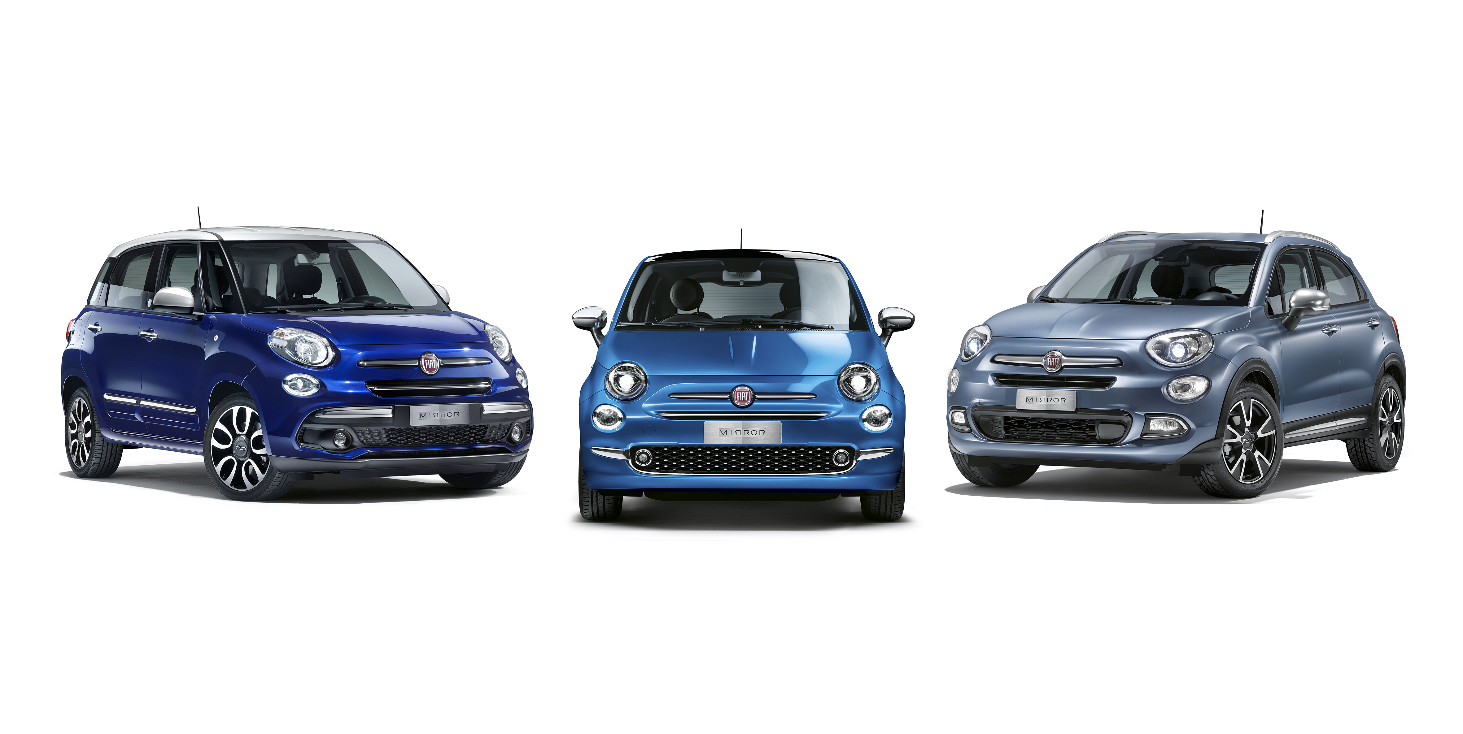 Fiat 500 Mirror.The New Fiat 500 Mirror Family Press Fiat Group