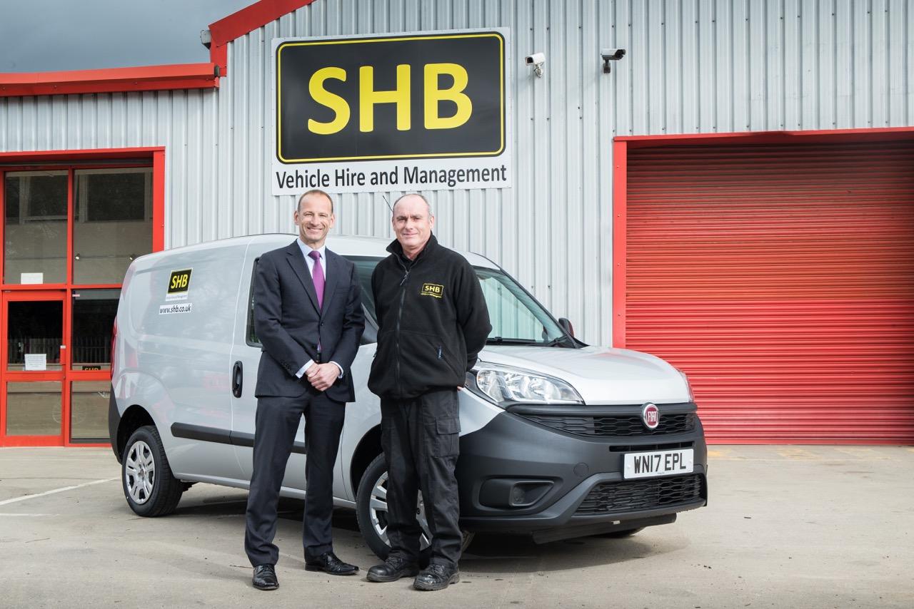 176 Fiat Vans For Shb Vehicle Hire Amp Management Press