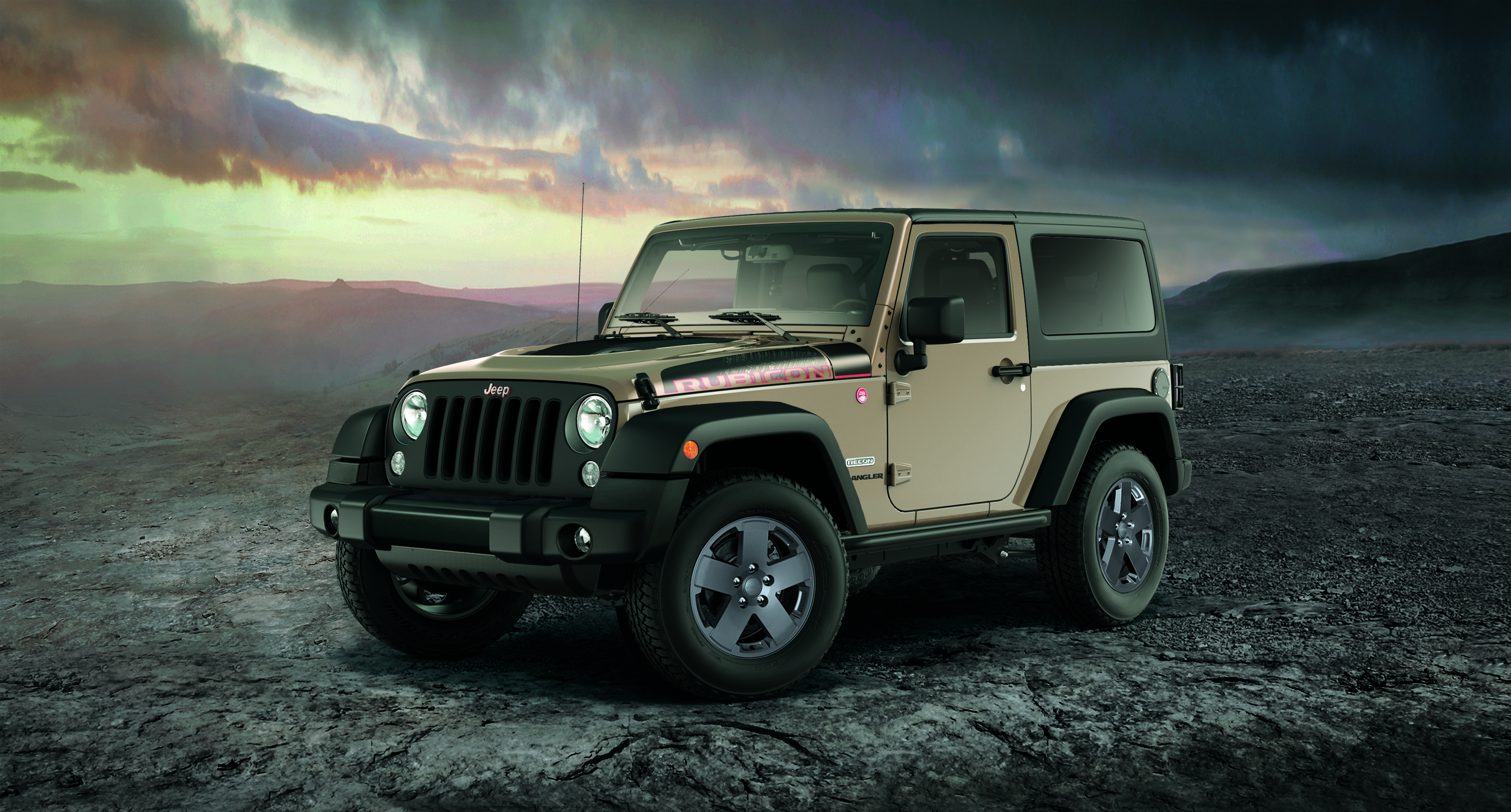 jeep announces new limited edition wrangler rubicon recon. Black Bedroom Furniture Sets. Home Design Ideas